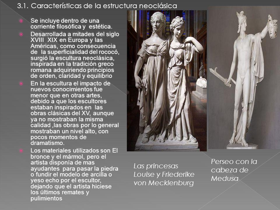 3.1. Características de la estructura neoclásica