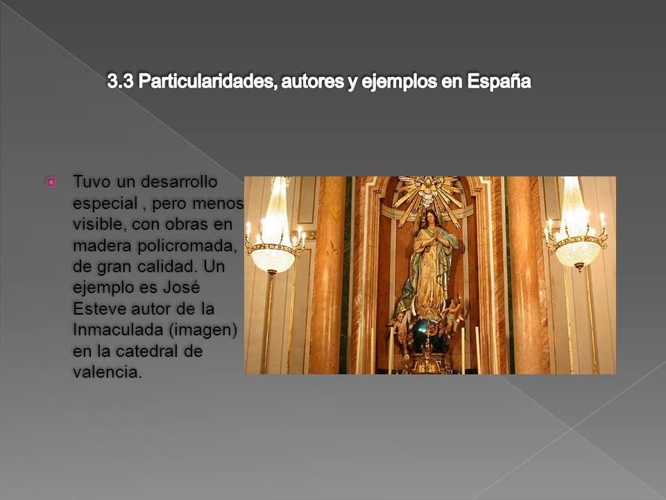 3.3 Particularidades, autores y ejemplos en España