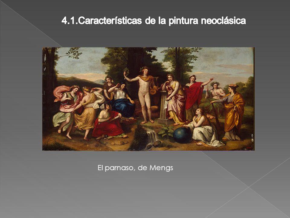 4.1.Características de la pintura neoclásica