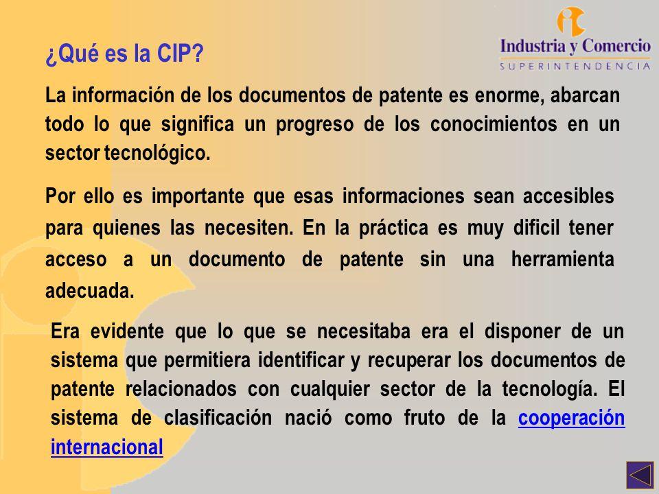 ¿Qué es la CIP