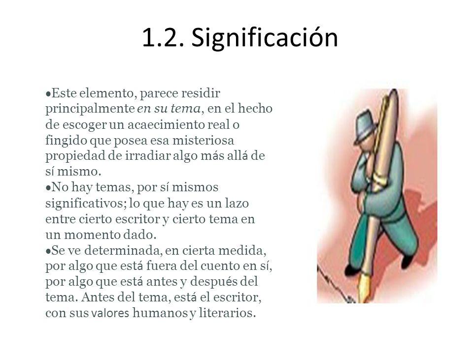 1.2. Significación