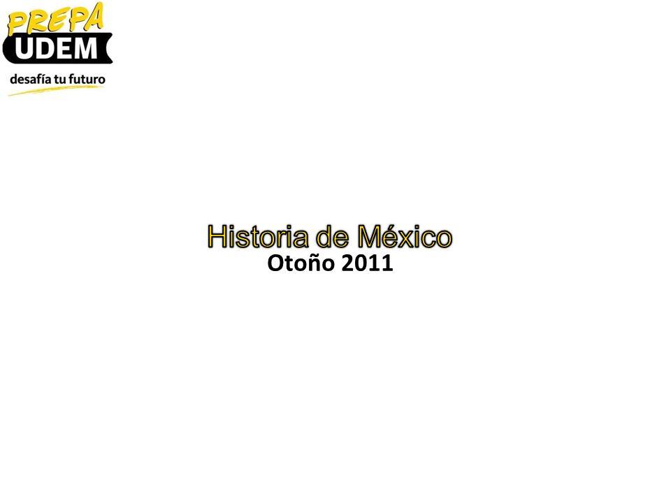 Otoño 2011 Historia de México