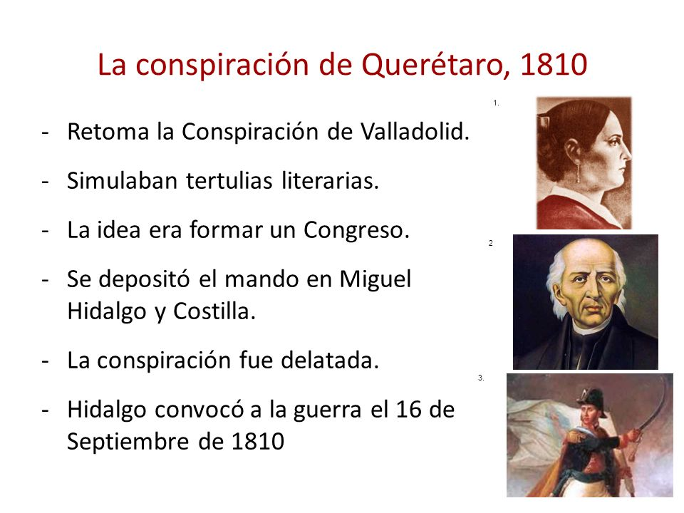 La conspiración de Querétaro, 1810