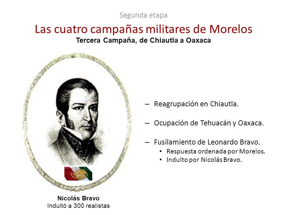 Segunda etapa Las cuatro campañas militares de Morelos