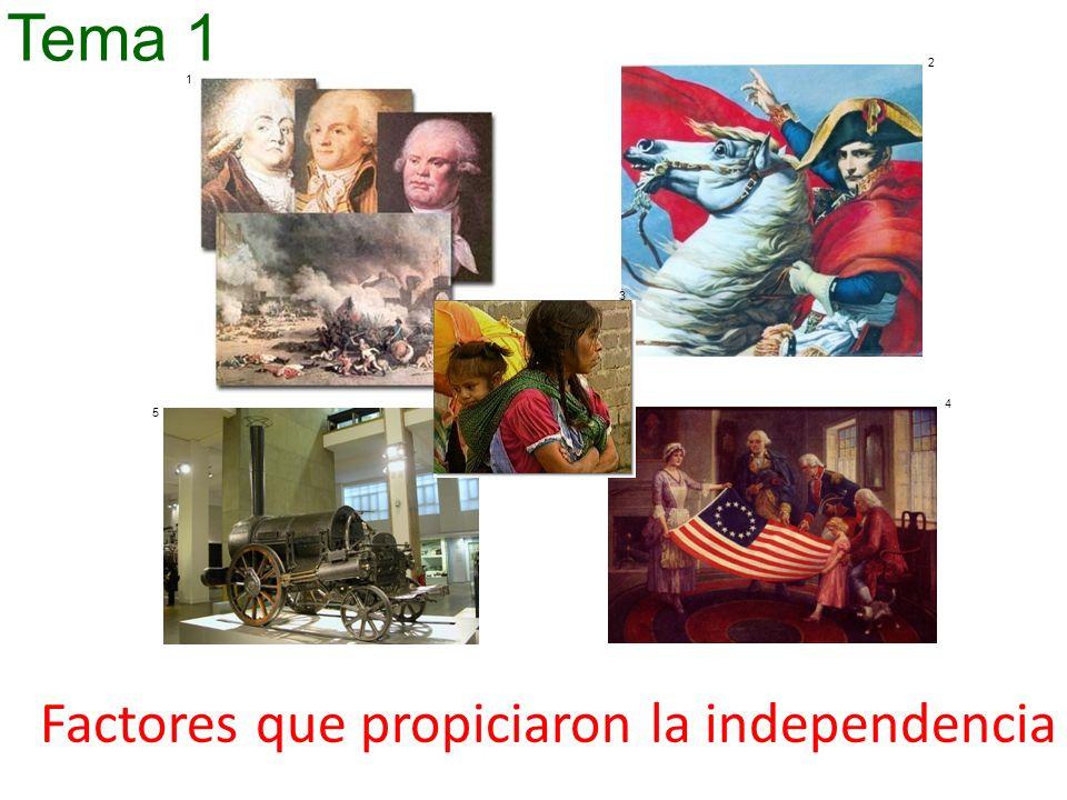 Factores que propiciaron la independencia