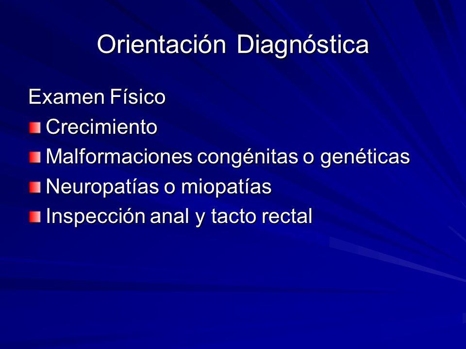 Orientación Diagnóstica