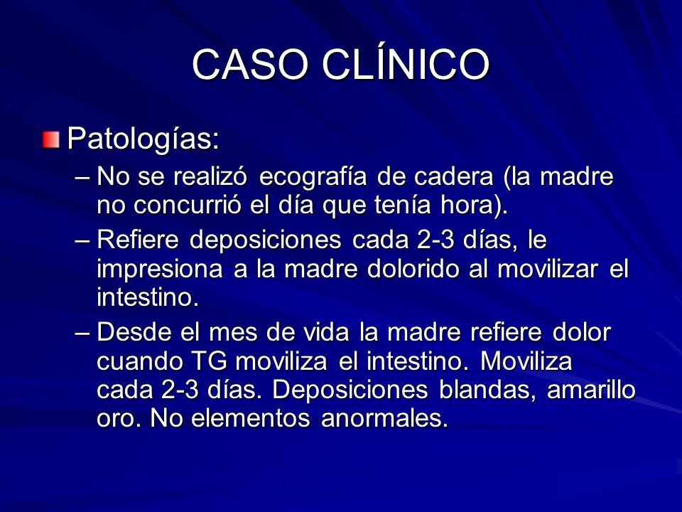 CASO CLÍNICO Patologías: