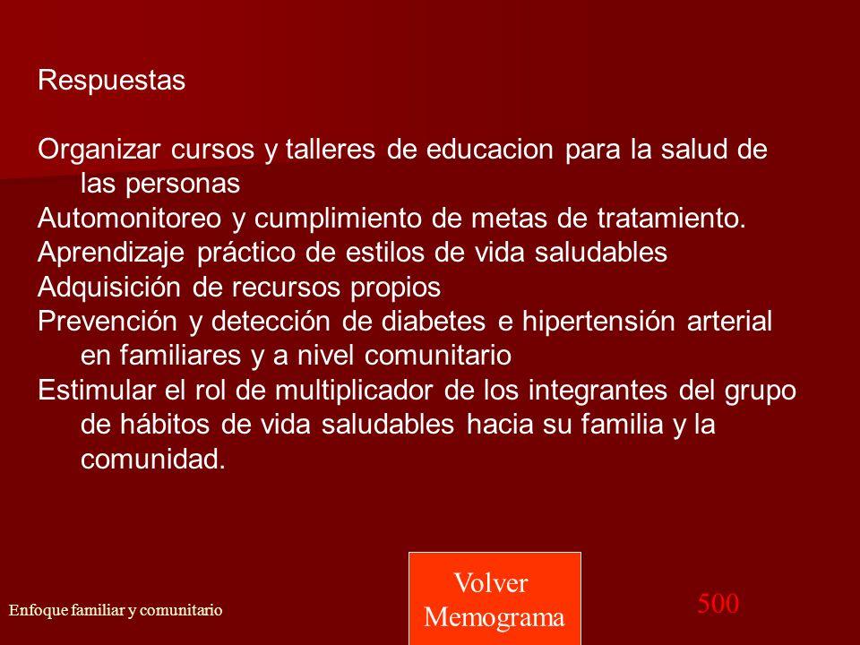 Organizar cursos y talleres de educacion para la salud de las personas