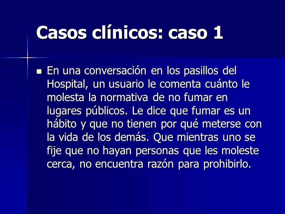 Casos clínicos: caso 1