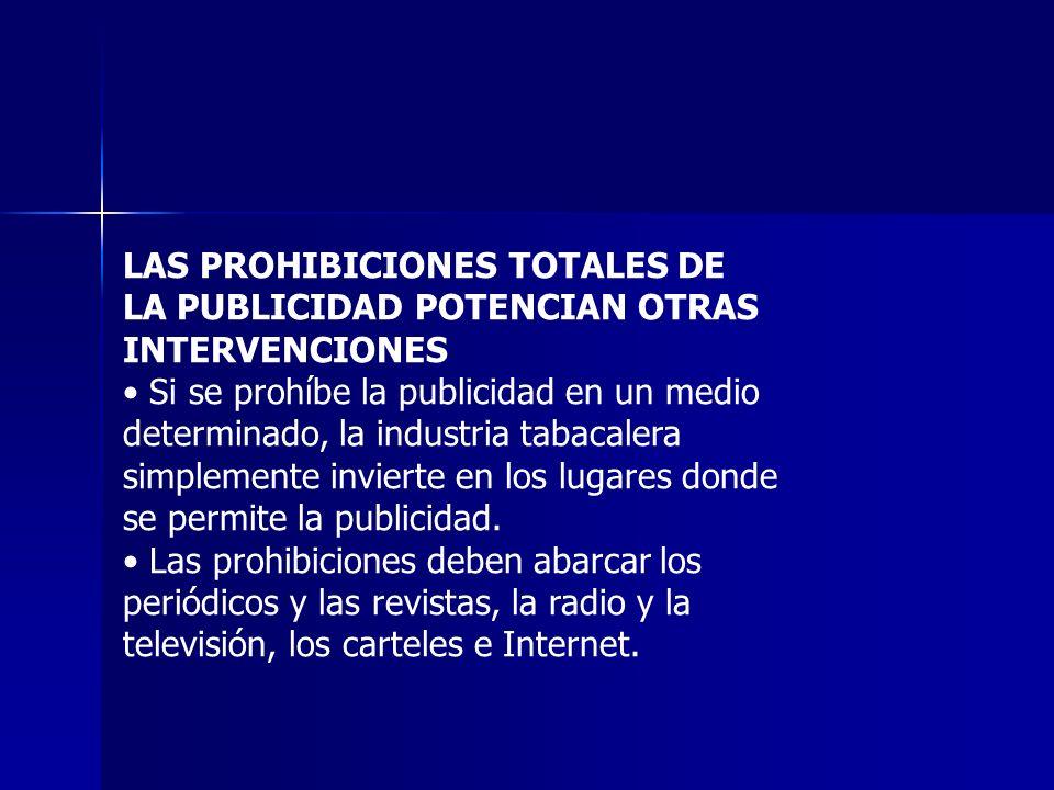 LAS PROHIBICIONES TOTALES DE