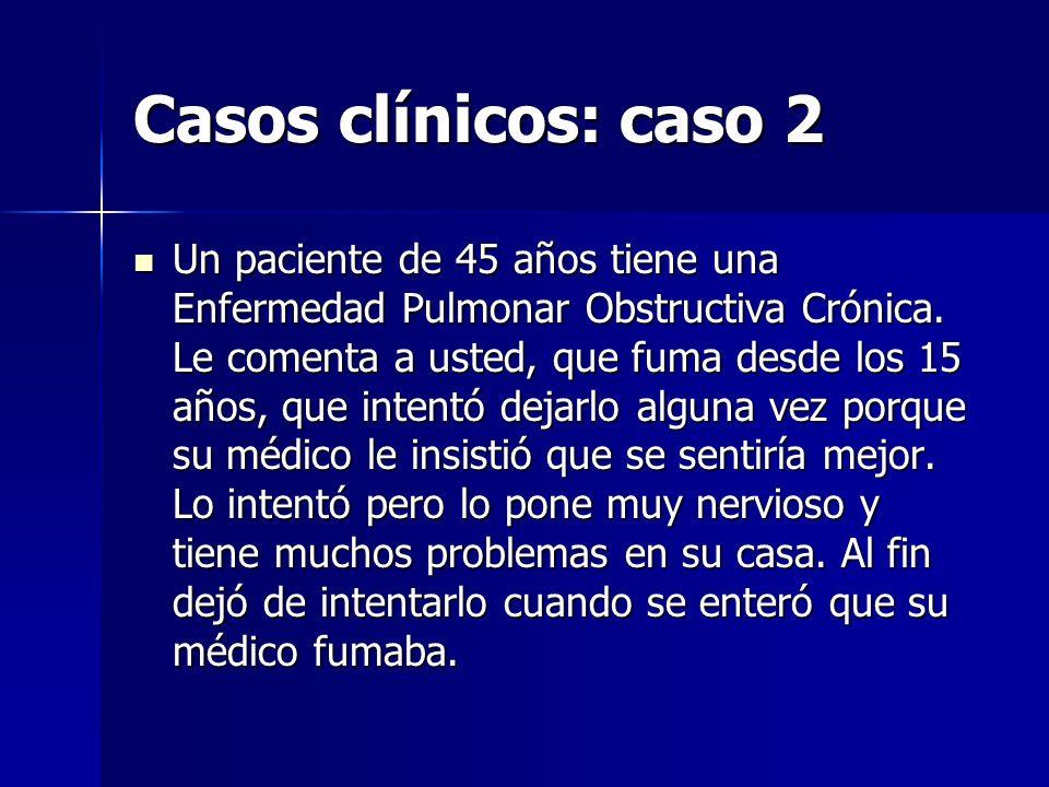 Casos clínicos: caso 2