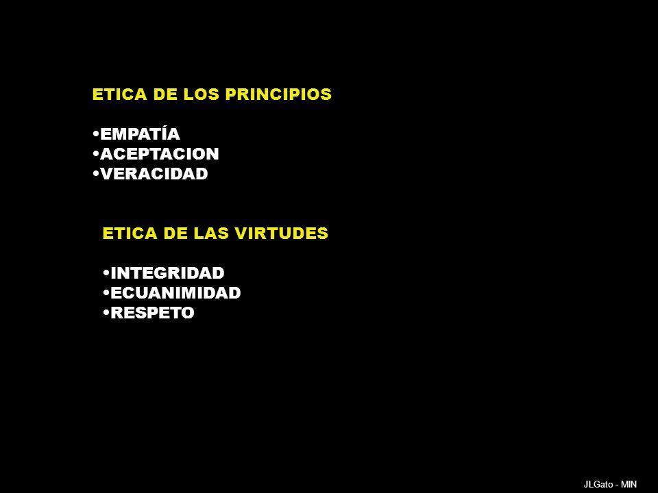ETICA DE LOS PRINCIPIOS EMPATÍA ACEPTACION VERACIDAD