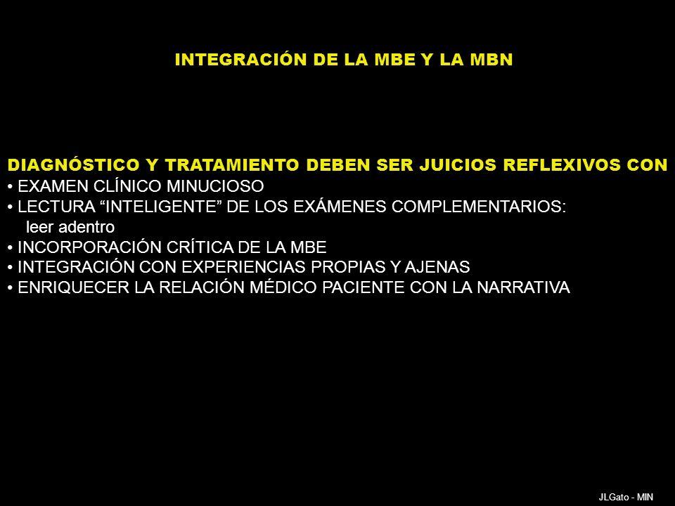 INTEGRACIÓN DE LA MBE Y LA MBN