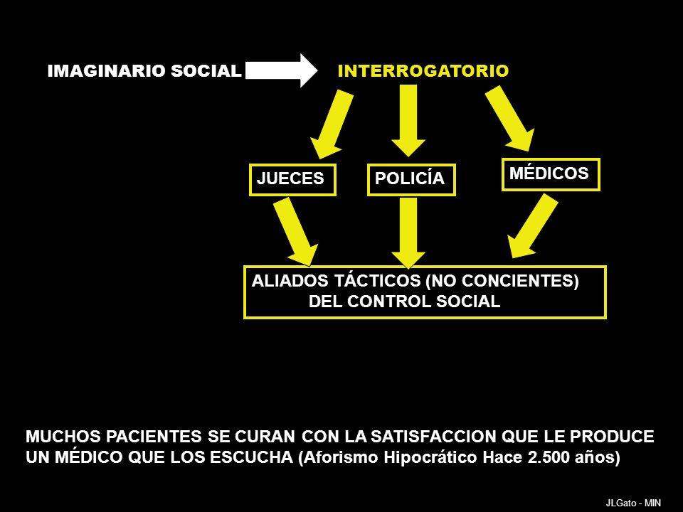 ALIADOS TÁCTICOS (NO CONCIENTES) DEL CONTROL SOCIAL