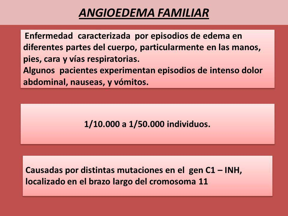 ANGIOEDEMA FAMILIAR