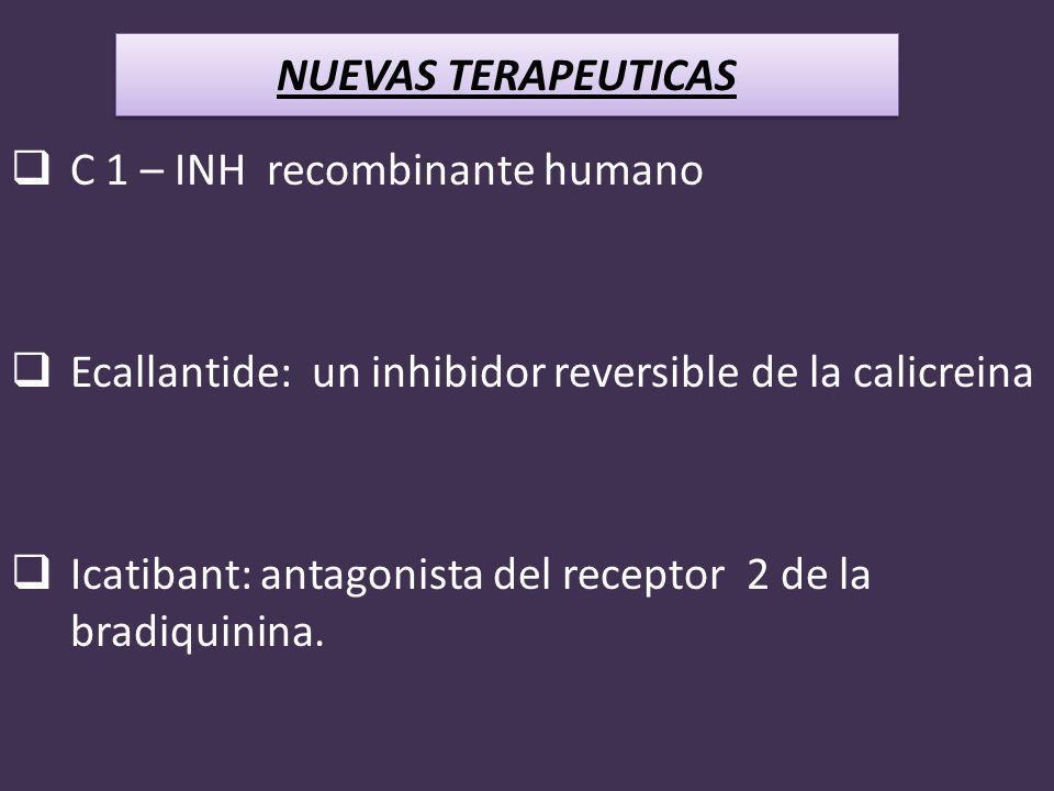 C 1 – INH recombinante humano