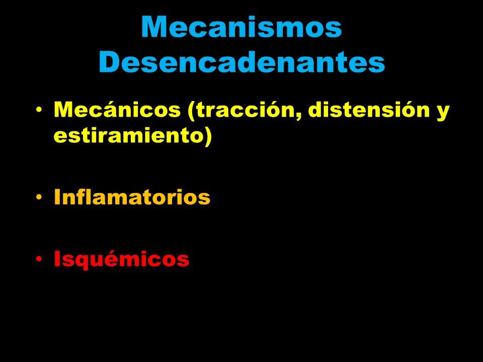 Mecanismos Desencadenantes