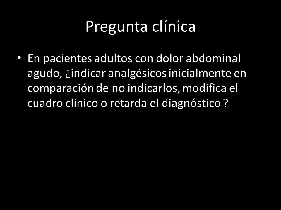 Pregunta clínica