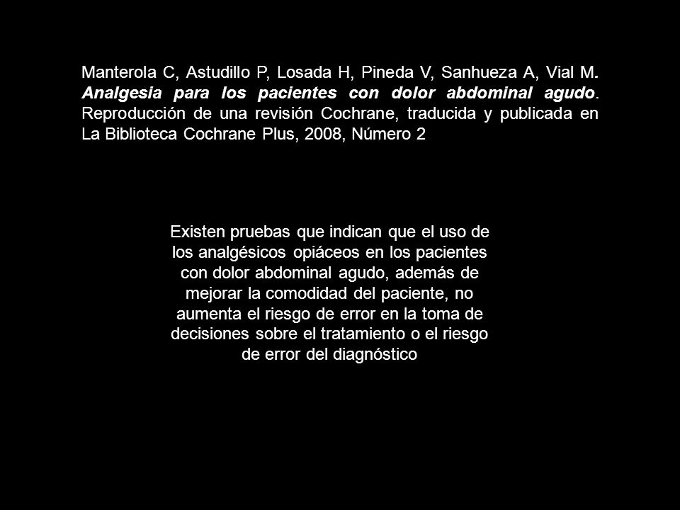 Manterola C, Astudillo P, Losada H, Pineda V, Sanhueza A, Vial M