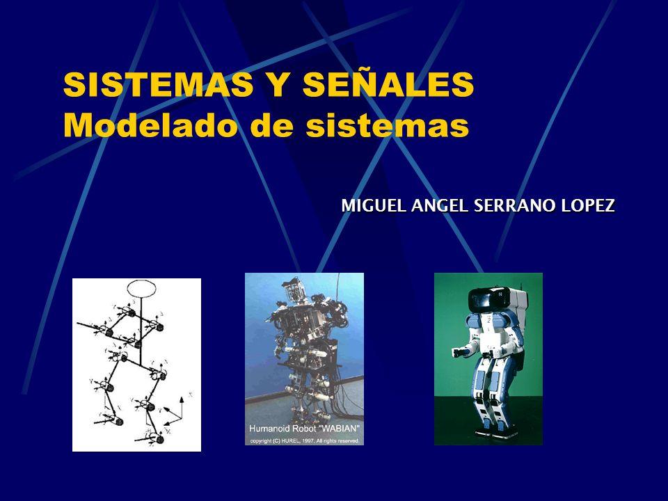 SISTEMAS Y SEÑALES Modelado de sistemas