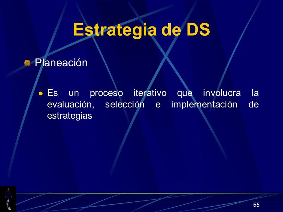 Estrategia de DS Planeación
