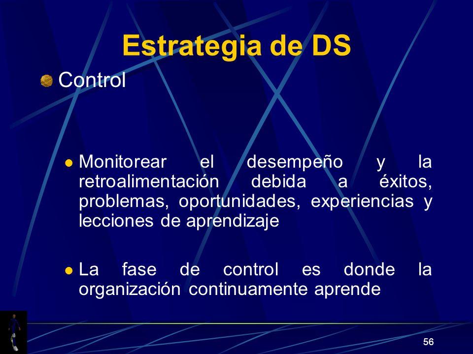 Estrategia de DS Control