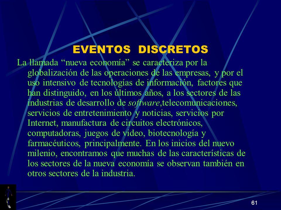 EVENTOS DISCRETOS