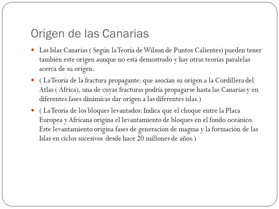 Origen de las Canarias