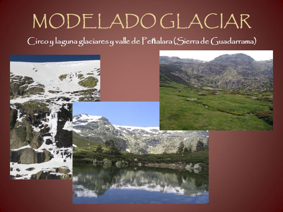 Circo y laguna glaciares y valle de Peñalara (Sierra de Guadarrama)
