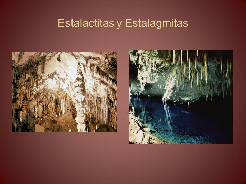 Estalactitas y Estalagmitas