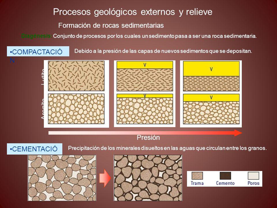 Procesos geológicos externos y relieve