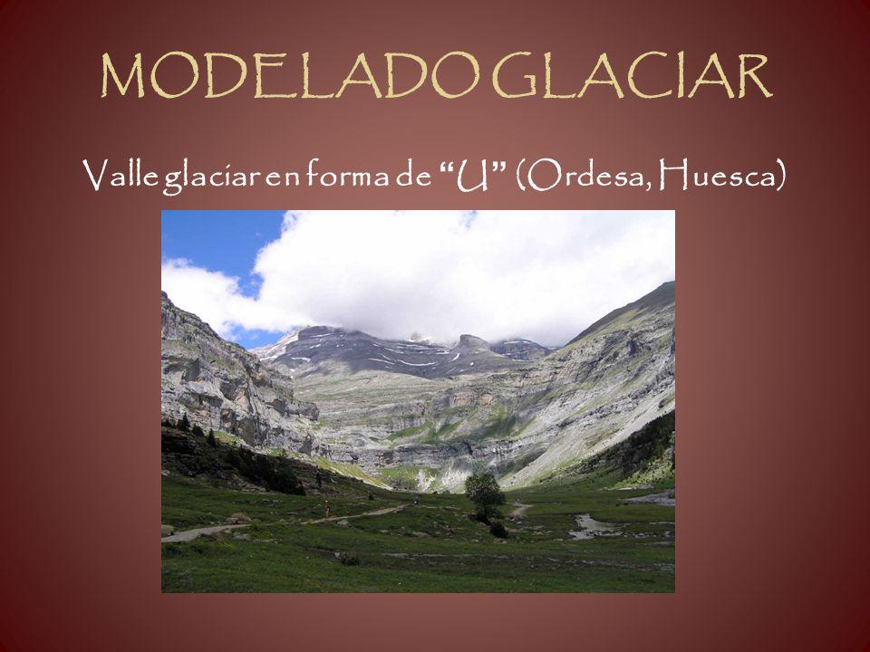 Valle glaciar en forma de U (Ordesa, Huesca)