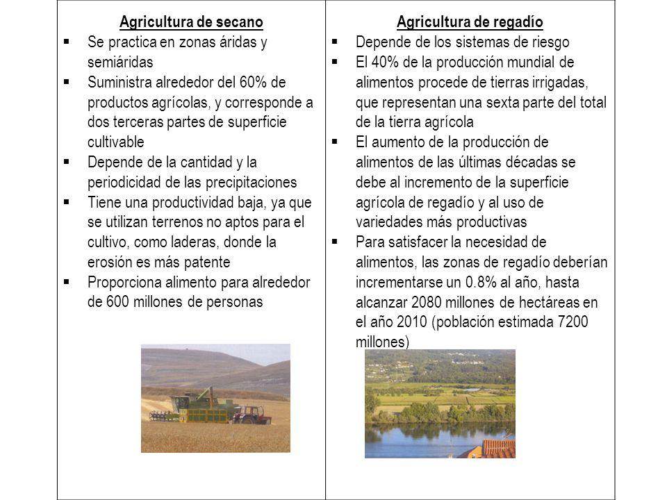 Agricultura de regadío