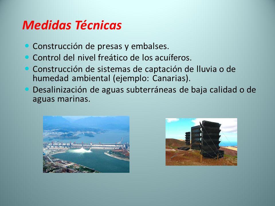 Medidas Técnicas Construcción de presas y embalses.