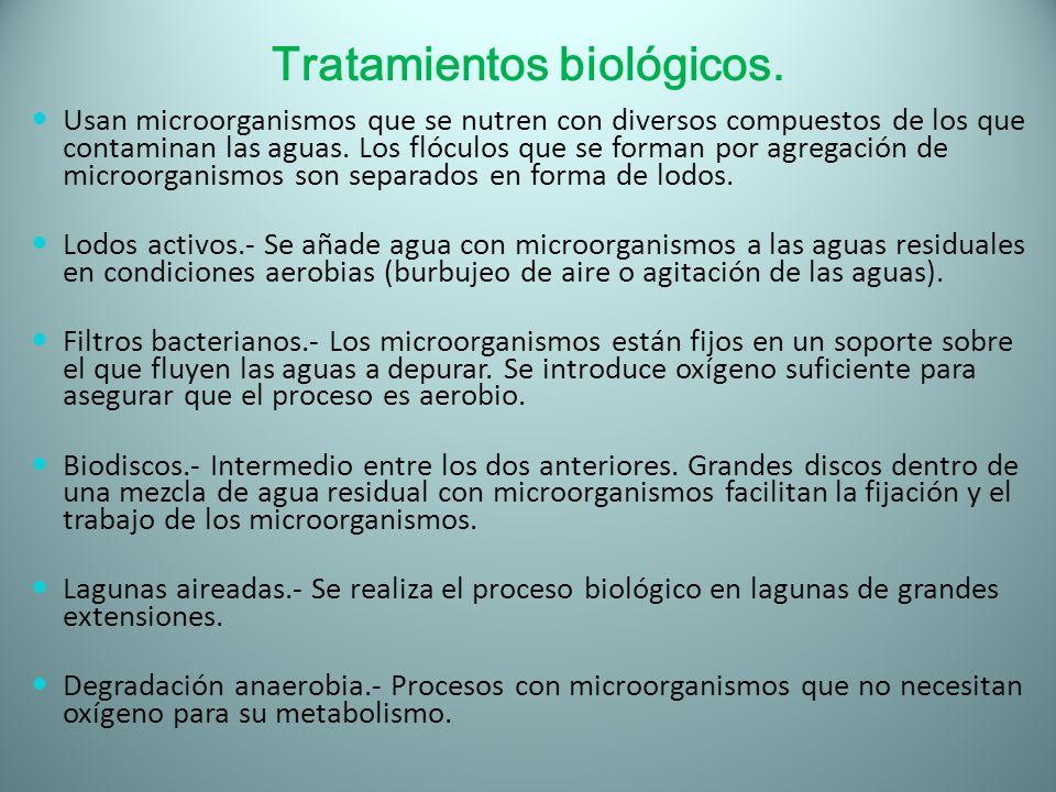 Tratamientos biológicos.