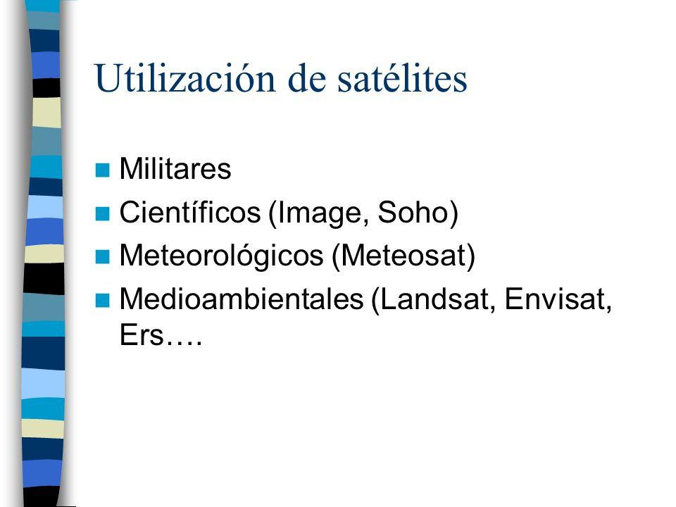 Utilización de satélites
