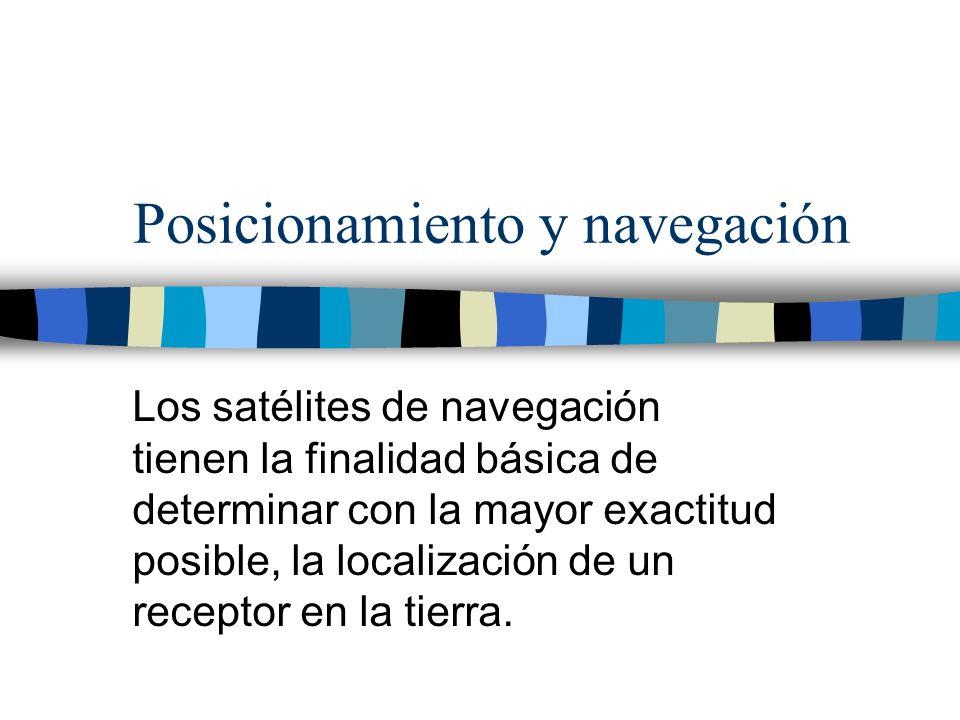 Posicionamiento y navegación