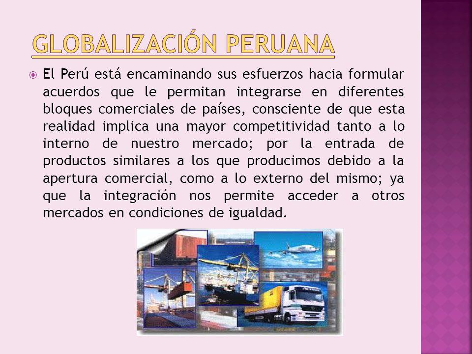 Globalización Peruana