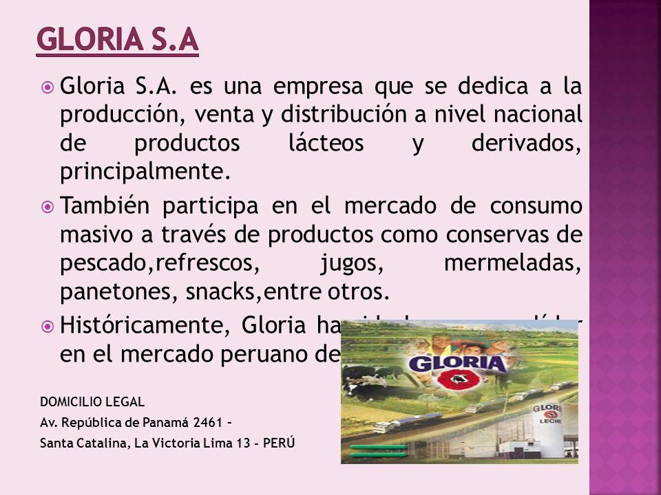 GLORIA S.A