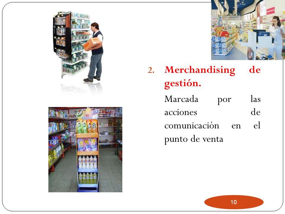 Merchandising de gestión.