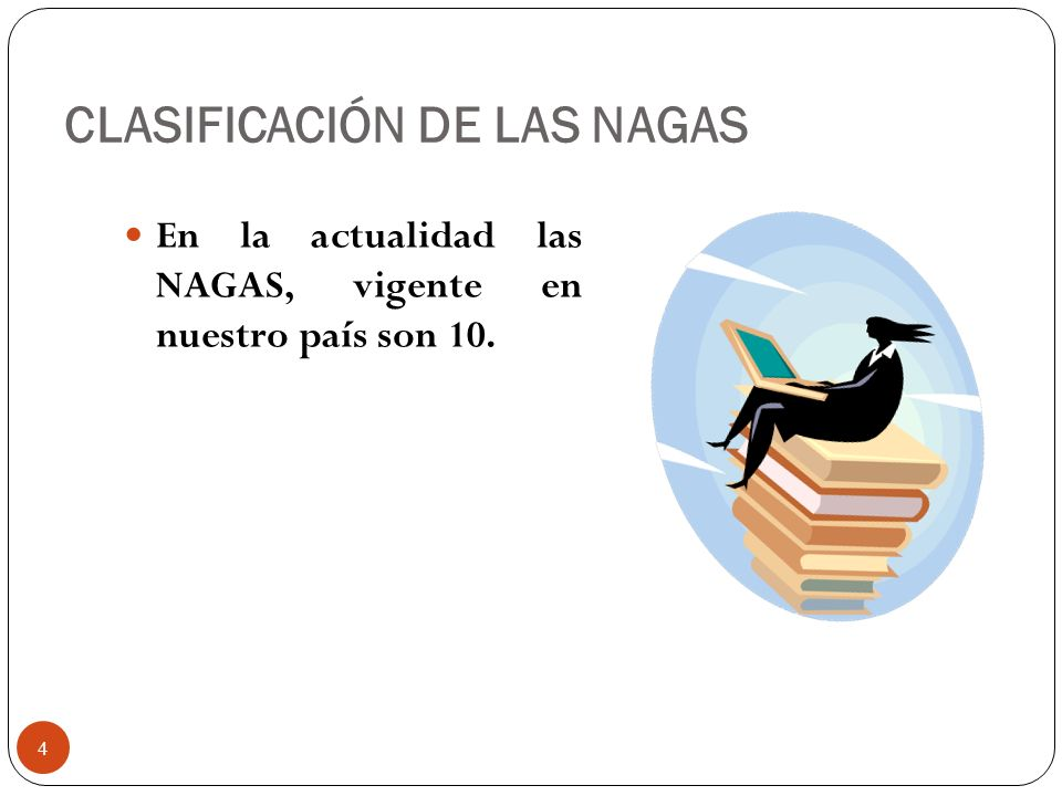 CLASIFICACIÓN DE LAS NAGAS