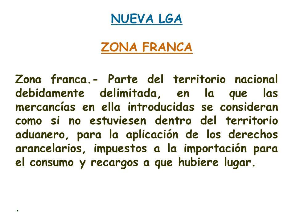 NUEVA LGAZONA FRANCA.
