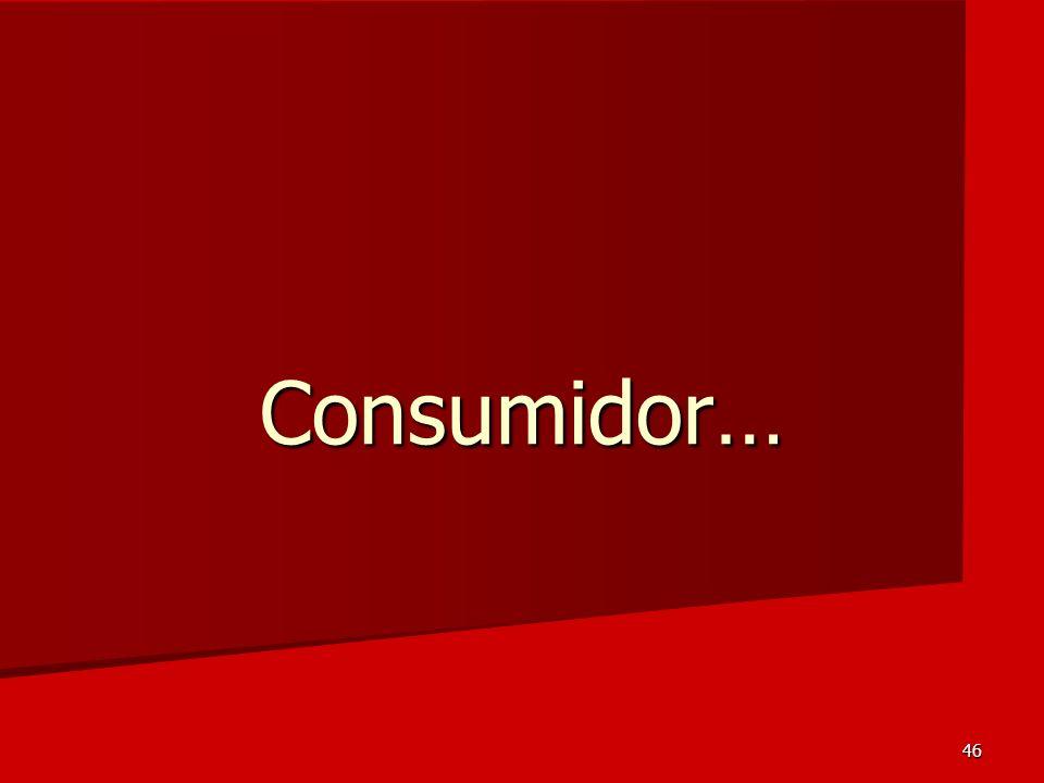 Consumidor…