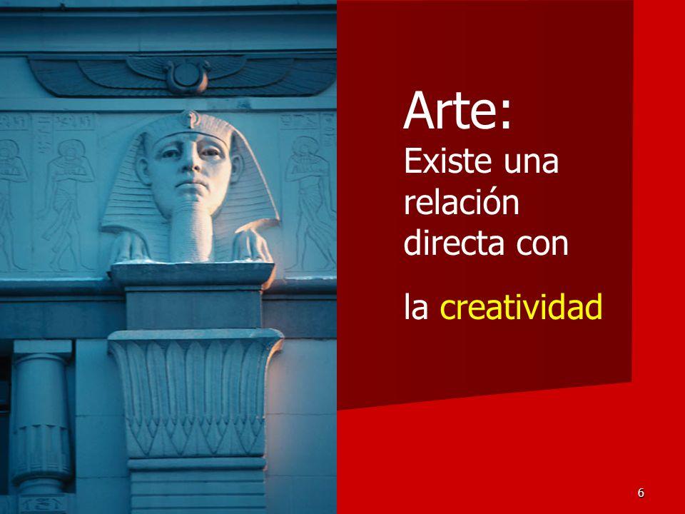 Arte: Existe una relación directa con la creatividad