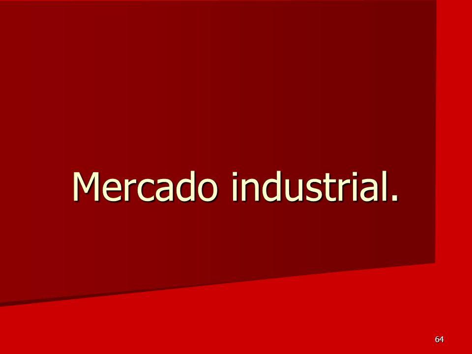 Mercado industrial.