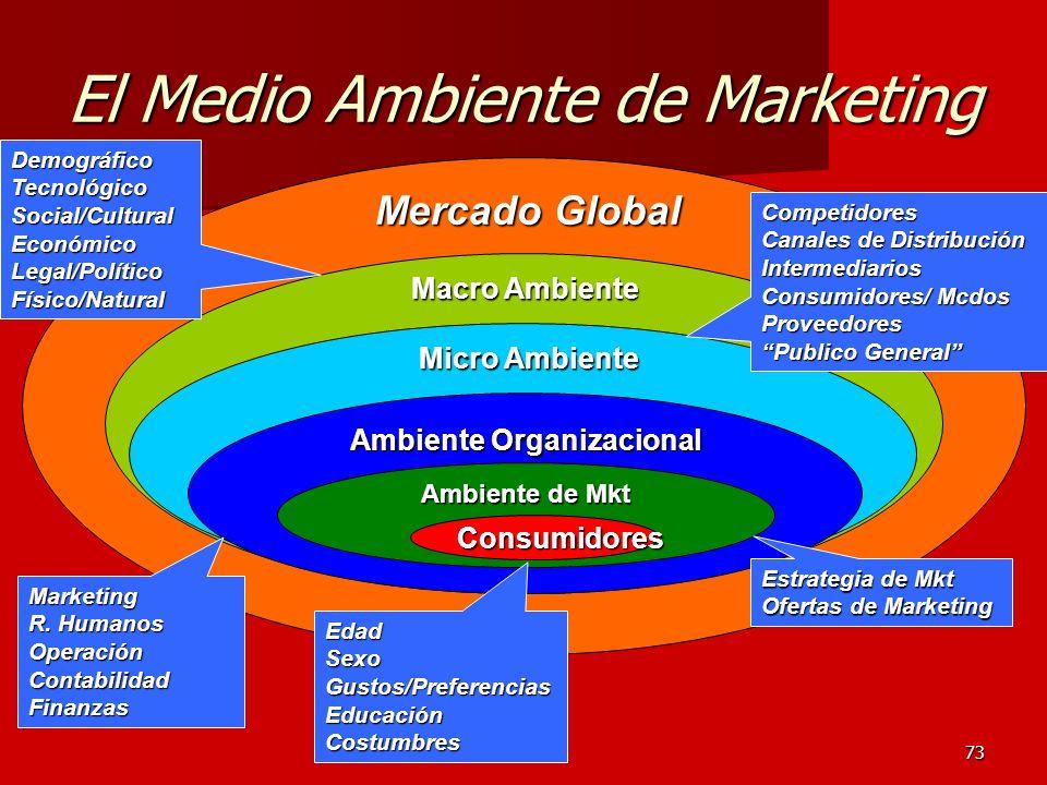El Medio Ambiente de Marketing