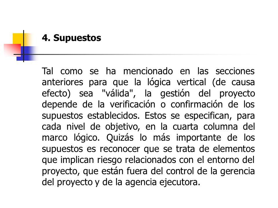 4. Supuestos