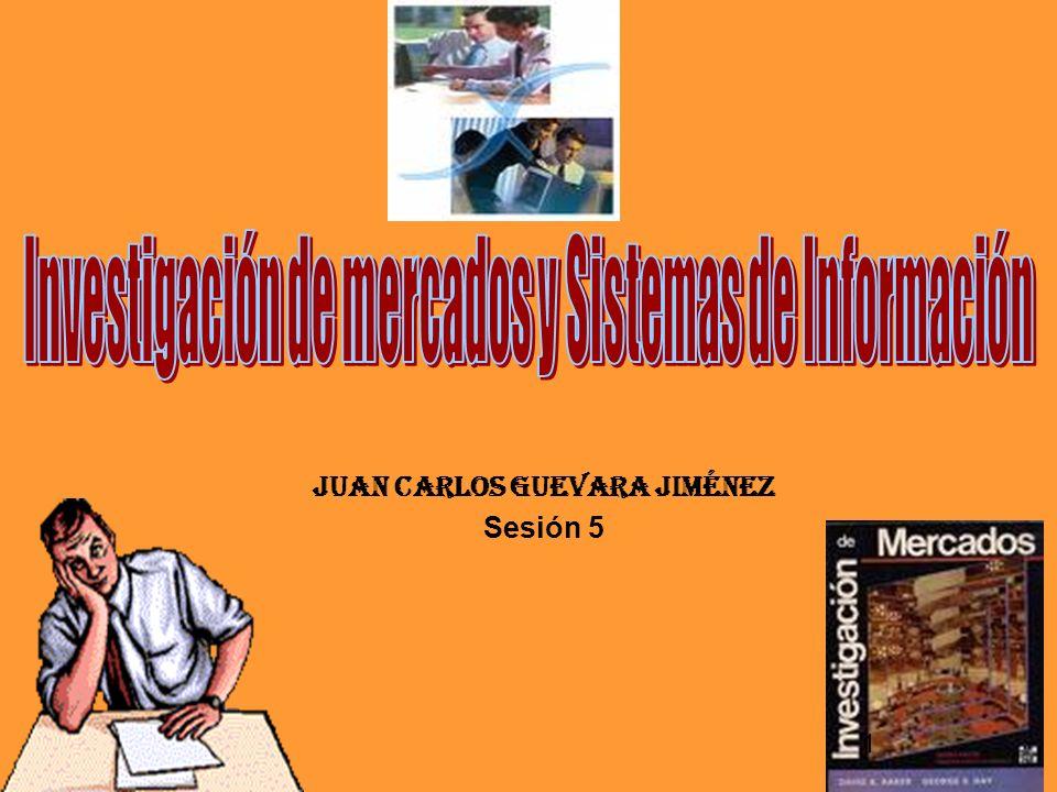 Juan Carlos GUEVARA Jiménez Sesión 5