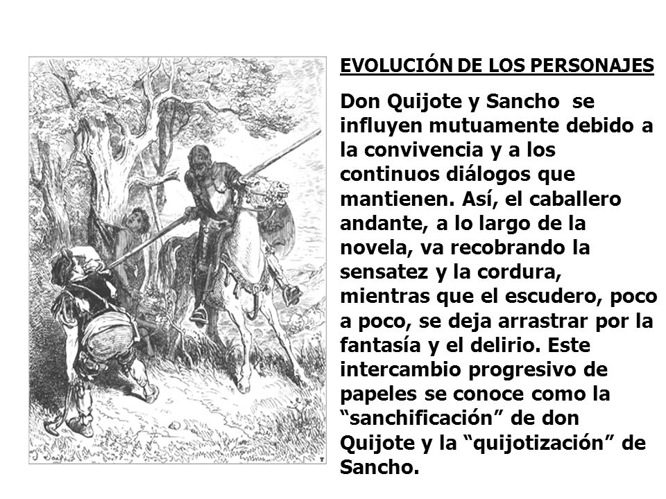 EVOLUCIÓN DE LOS PERSONAJES