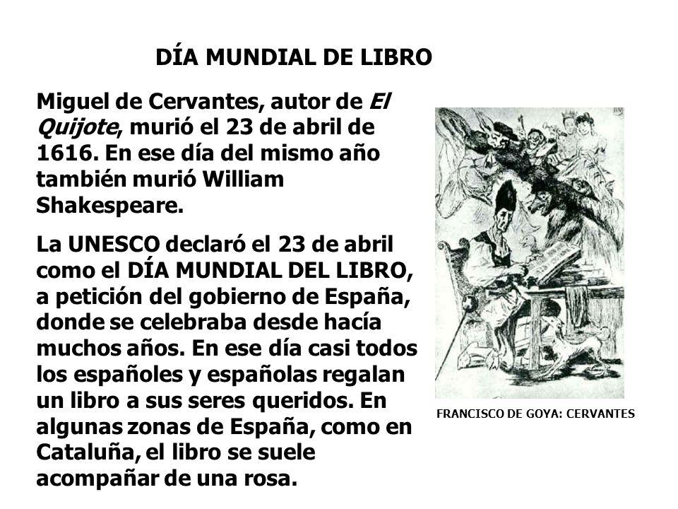 DÍA MUNDIAL DE LIBRO